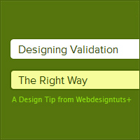 User Experience: Designing Form Validation the Right Way