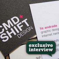 Exclusive Interview with Liz Andrade (CMD+Shift Design)