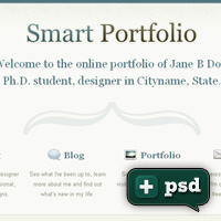 Create a Clean and Minimal Portfolio Design (Plus a Free PSD!)