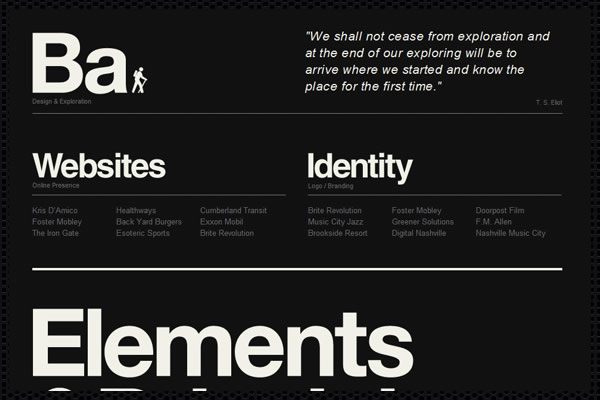 Web Design Trends : Web Typography 7