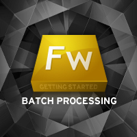 Getting Started with Fireworks: Batch Processing Experiment