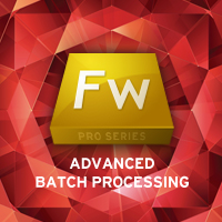 Fireworks Pro Series: Batch Processing