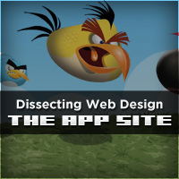 "Dissecting Web Design: The ""App"" Site"