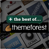 The Best of ThemeForest – April 2011 Edition
