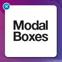 Modal and Modeless Boxes in Web Design