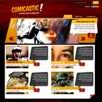 Create a Comic Book Themed Web Design, Photoshop to HTML + CSS (Part 1)