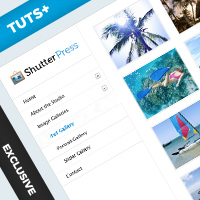 ShutterPress: Design &#038; Code A Photo Portfolio Site (Day 3: HTML/CSS)