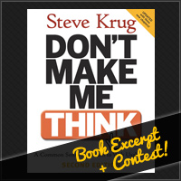 Don&#8217;t Make Me Think: Free Chapter + Book Giveaway Contest!