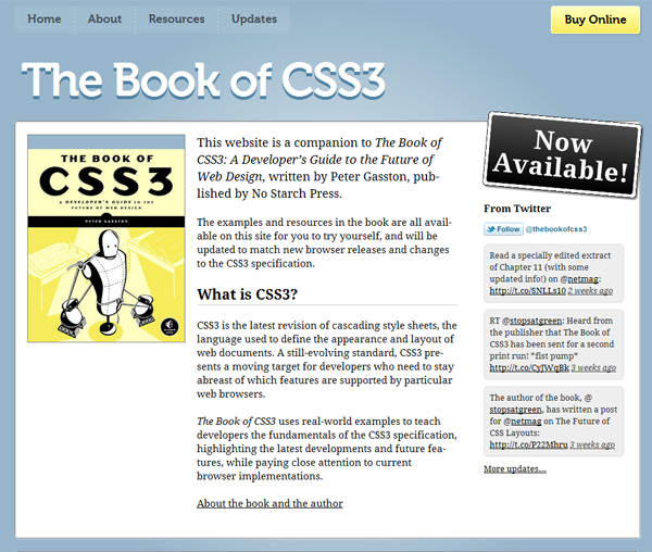 book of css3