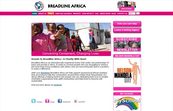 Breadline非洲