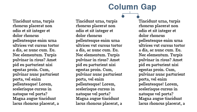 CSS3 Multi Column Gap