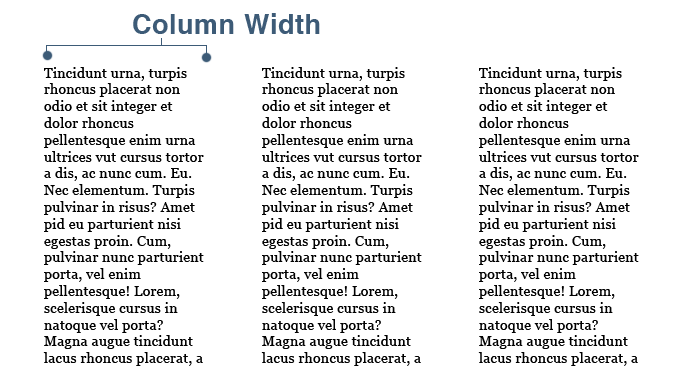 CSS3 Multi Column Width