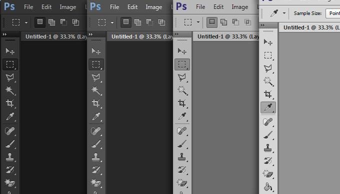 Photoshop CS6 новый интерфейс