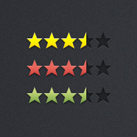 Quick Tip: Create a Rating System With CSS, Web fonts and Sprites