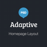 Adaptive Blog Theme: Homepage Layout