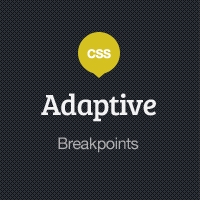 Adaptive Blog Theme: Breakpoints