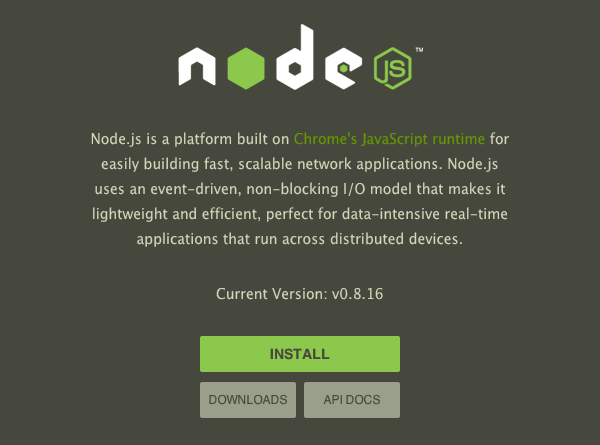 Download Node.Js