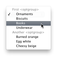 Quick Tip: Don't Forget the optgroup Element