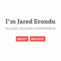 Web Design Workshop #3: I'm Jared Erondu