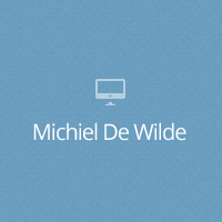 Web Design Workshop #26: Michiel De Wilde