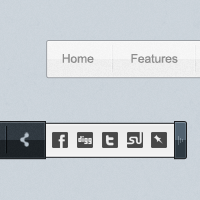 PSD Freebie: Sliding Menu
