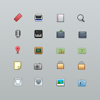 Exclusive Freebie: Vento Icon Set and Source