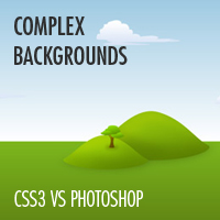 CSS3 vs. Photoshop: Complex Backgrounds