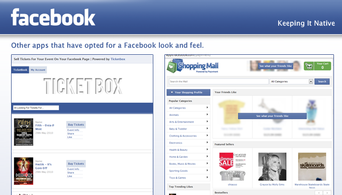 facebook app the nebefits of designing native