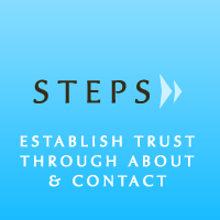 Building a Website in Progressive Steps: Establishing Trust
