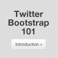 Twitter Bootstrap 101: Introduction